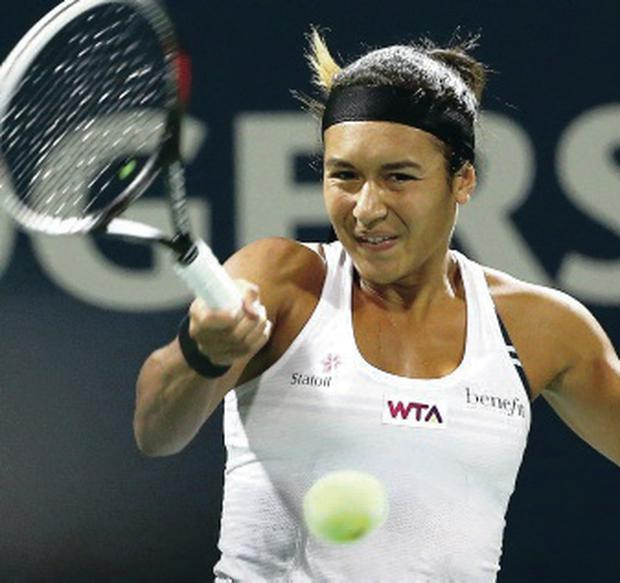 On the rise: Heather Watson has moved into the world's top 50