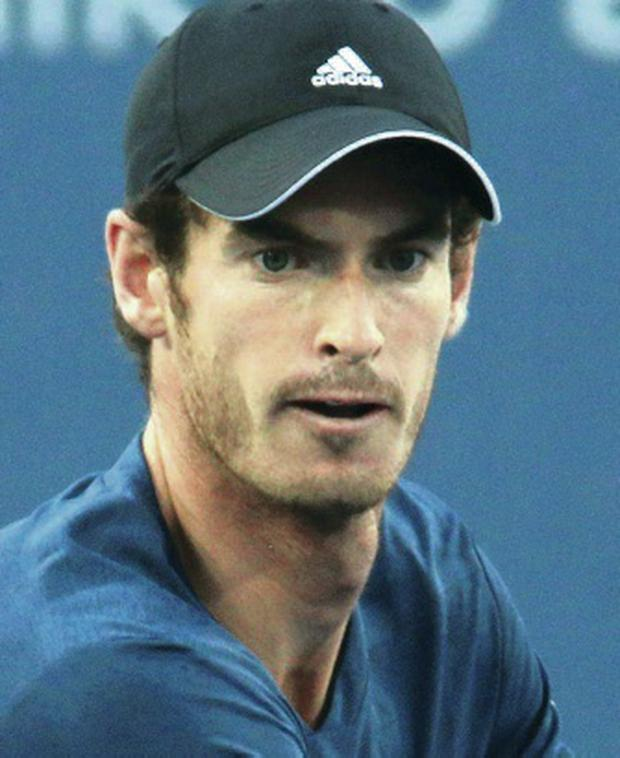 Fitness test: Andy Murray suffered cramp in round one