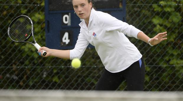 Seizing the moment: Karola Bejenaru is one huge result away from realising her Wimbledon dream