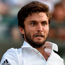 Gilles Simon has been dropped from the French Davis Cup team to face Great Britain in the quarter-final in Rouen.