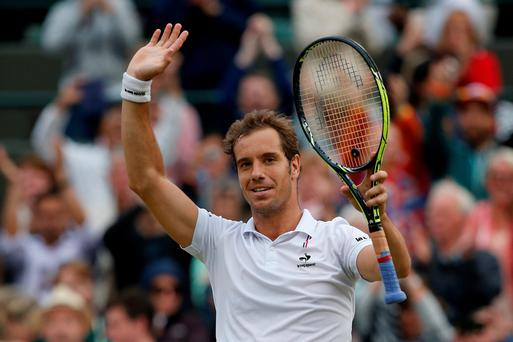 Richard Gasquet forced a thrilling match into five sets