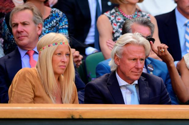 Ice cool: Bjorn Borg