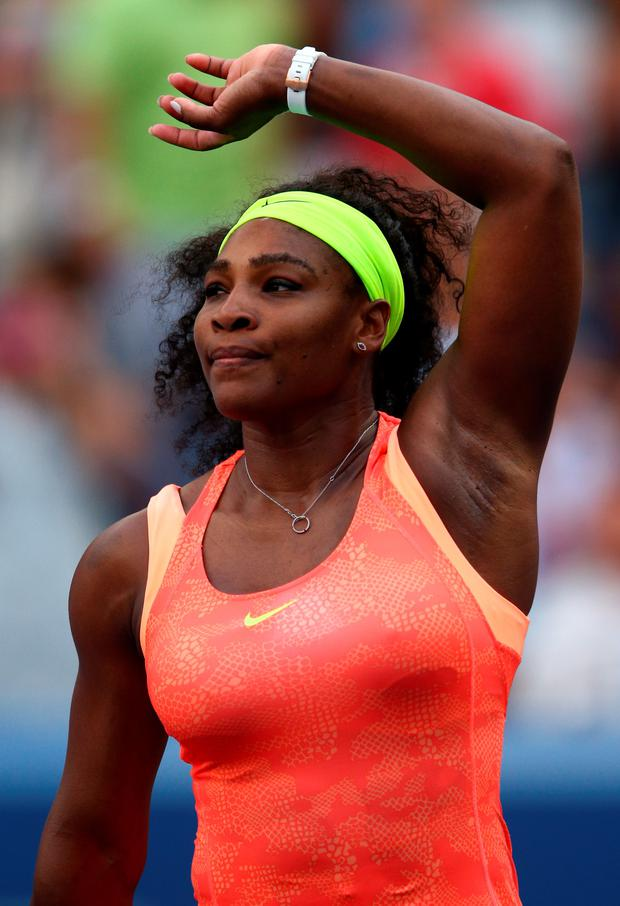 Tough opponent: Serena Williams must beat her sister, Venus, to stay on course for Slam