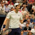 Conquered: Andy Murray lost in the quarters of the US Open