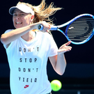 Tough road back: Maria Sharapova will have to rely on wildcards to enter big tournaments after her return from a doping ban — although these may not be forthcoming