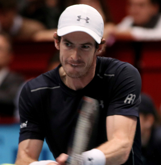 Classy: Andy Murray is in great form