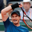 Power play: Andy Murray will meet Russia's Karen Khachanov, in the French Open fourth round
