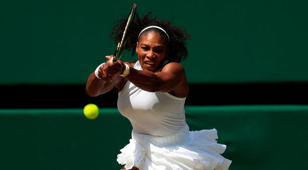 Star attraction: Serena Williams is on way back