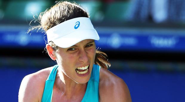 Reach summit: Johanna Konta aims to scale new heights in 2018