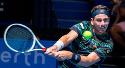 Mixing well: Cameron Norrie