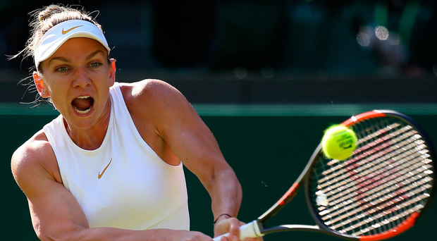 Home from home: Defending French Open champion Simona Halep