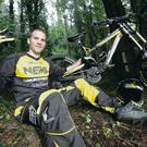 Reaching new heights: Glyn O'Brien wants to grasp more medals