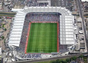 Croke Park is being used as a coronavirus testing centre but some day will once again be thronged with crowds.