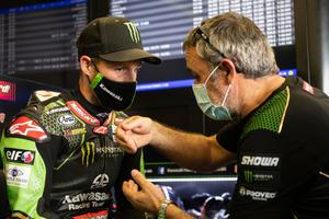 Jonathan Rea masked up as he prepares for the return of the World Superbike season later this month.