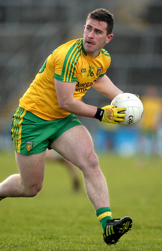 Cruise control: Donegal's Paddy McBrearty said he had a feeling his side would blow away Armagh
