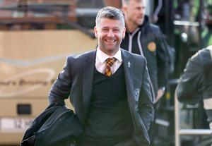 Stephen Robinson has led Motherwell into European competition via their third place finish in the Scottish Premiership.
