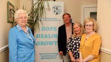 At the launch of the Hope Health and Growth event for 2019 are Sister Edel Bannon, Adrian Dubar, Noelle McAlinden and Aideen McGinley.