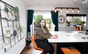 Entrepreneur Nuala Campbell credits her life-long insomnia with helping her completely gut and remodel a three-storey, four-bed townhouse in just six week.