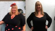Tracy Geddis before and after