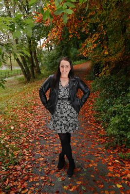 Lisburn woman Sarah Brown. Picture Colm O'Reilly Sunday Life 20/10/2020