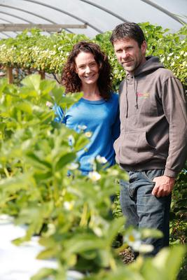 William and Leanne Donnan have been running their Flavour First veg box delivery service from their farm in Donaghadee for 12 years. Picture Colm O'Reilly Sunday Life 21-04-2020