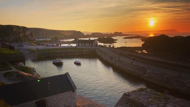 ballintoy harbour  Jonathan leathem photography