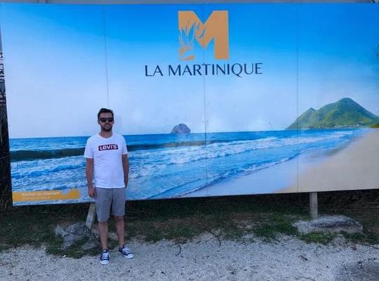 Martin Breen P&O cruise feature - iin Martinique