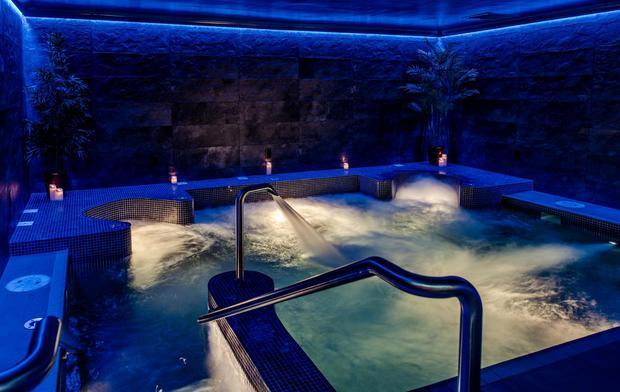 SOOTHING: The vitality pool at Kilkea Castle is the perfect place to relax