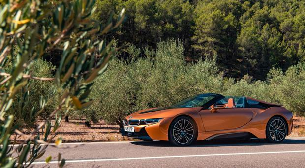 Thrilling Me Softly New Bmw I8 Roadster Tested Belfasttelegraph Co Uk