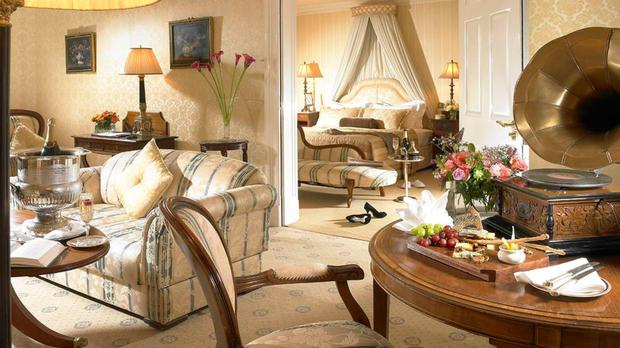 A grand suite at Hayfield