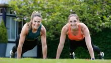 Kerry Kearney and Aimee Oliver Bodyfit Mums  Picture Colm O'Reilly Sunday Life