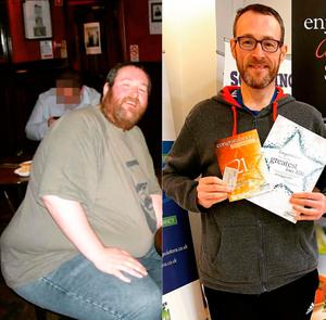 Phil Kayes weight loss feature