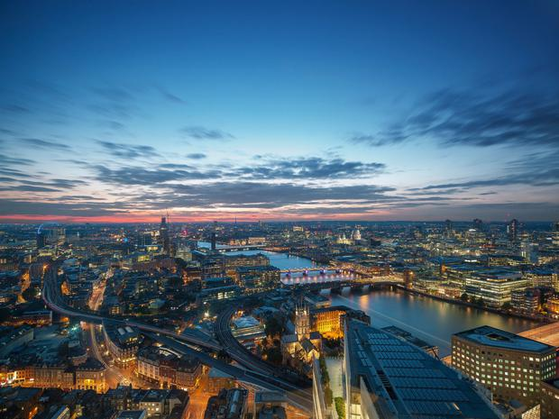 Shangri-La Hotel, At The Shard, London - Selection of high res hotel images
