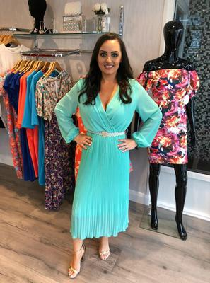 Click through the gallery to see all our favourite pieces from Serephina... reversible mint midi dress £75