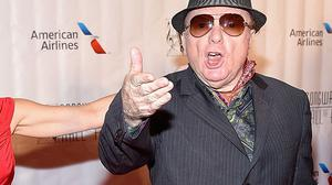 DOUBLING DOWN: Van Morrison repeated his claim that Robin Swann was dangerous