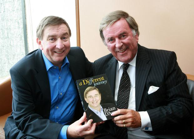 Sir Terry Wogan launched 'A Different Journey' by Fr. Brian D'Arcy in 2008 Picture credit: David Lee / SPORTSFILE