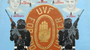 A UVF mural on the Upper Shankill Road