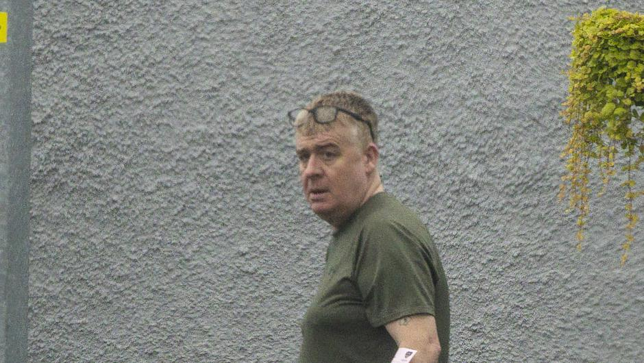 16 Sep 2021 - Alan Oliver at Helping Hands Community Outreach Project in Portadown.