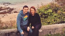 Image relates to former Sinn Fein West Tyrone MLA for Catherine Kelly and her husband Barry McColgan