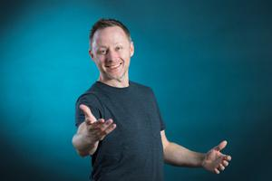 Scottish comedian and actor Brian Limond aka Limmy