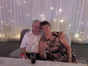 Charles Wright (80) and  Joan Wright (75), Joan died from Covid-19.