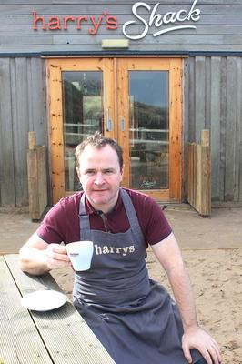 Donal Doherty Manager of Harry's Shack in Portstewart. Photo: Mark Jamieson