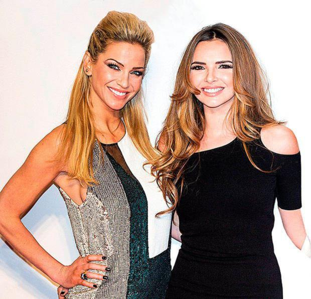 PALS: Sarah and Nadine in their Girls Aloud days