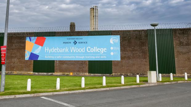 Hydebank prison houses women and young offenders