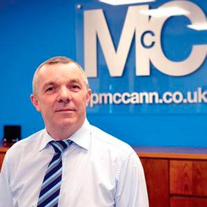 Eoin McCann, managing director of FP McCann