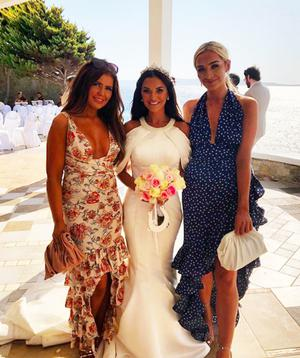 Instagram post showing the wedding of former professional boxer Ryan Burnett to Lead dancer with Lord of The Dance Lara Milner in Mykonos in Greece (Saturday 12 Sep 2020)