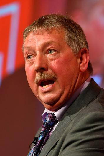 OUT OF TOUCH: Sammy Wilson