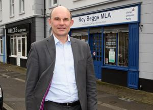Roy Beggs, UUP MLA for East Antrim.