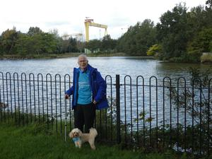Willie at Victoria Park in east Belfast