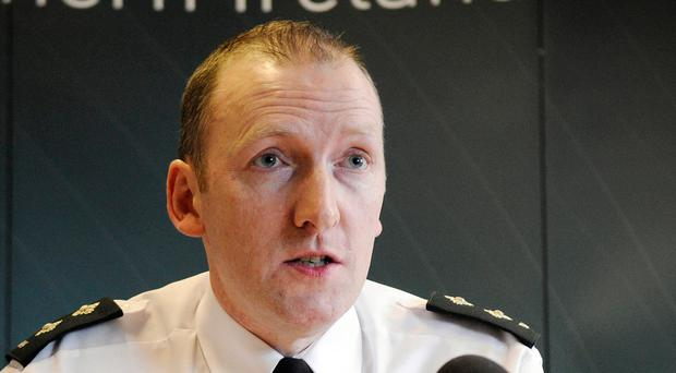 PSNI Inspector Norman Haslett. Picture by Pacemaker